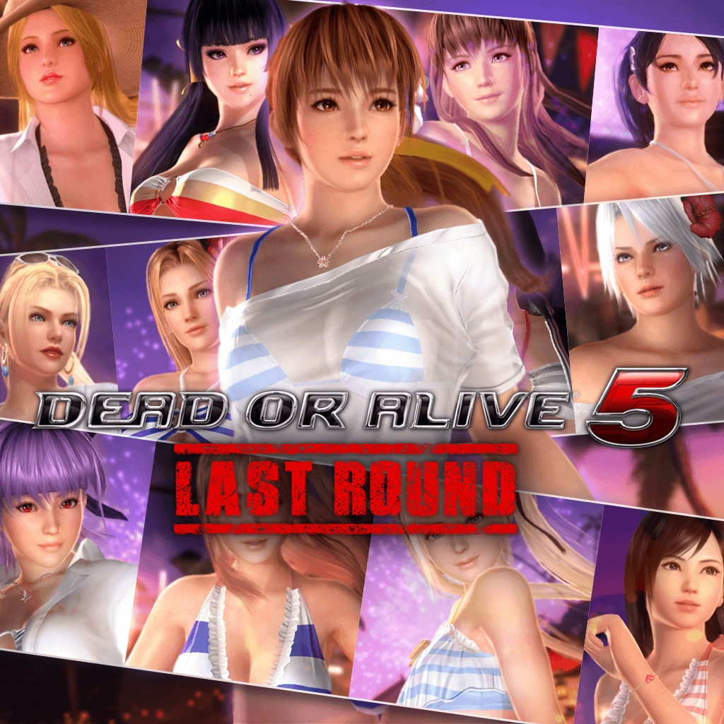 DOA5LR Hot Summer Costume Set