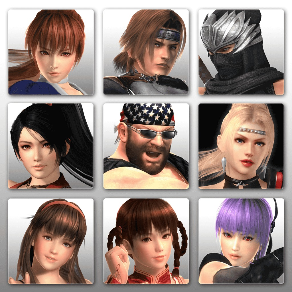 Dead or Alive 5 Ultimate - Avatar Set 1