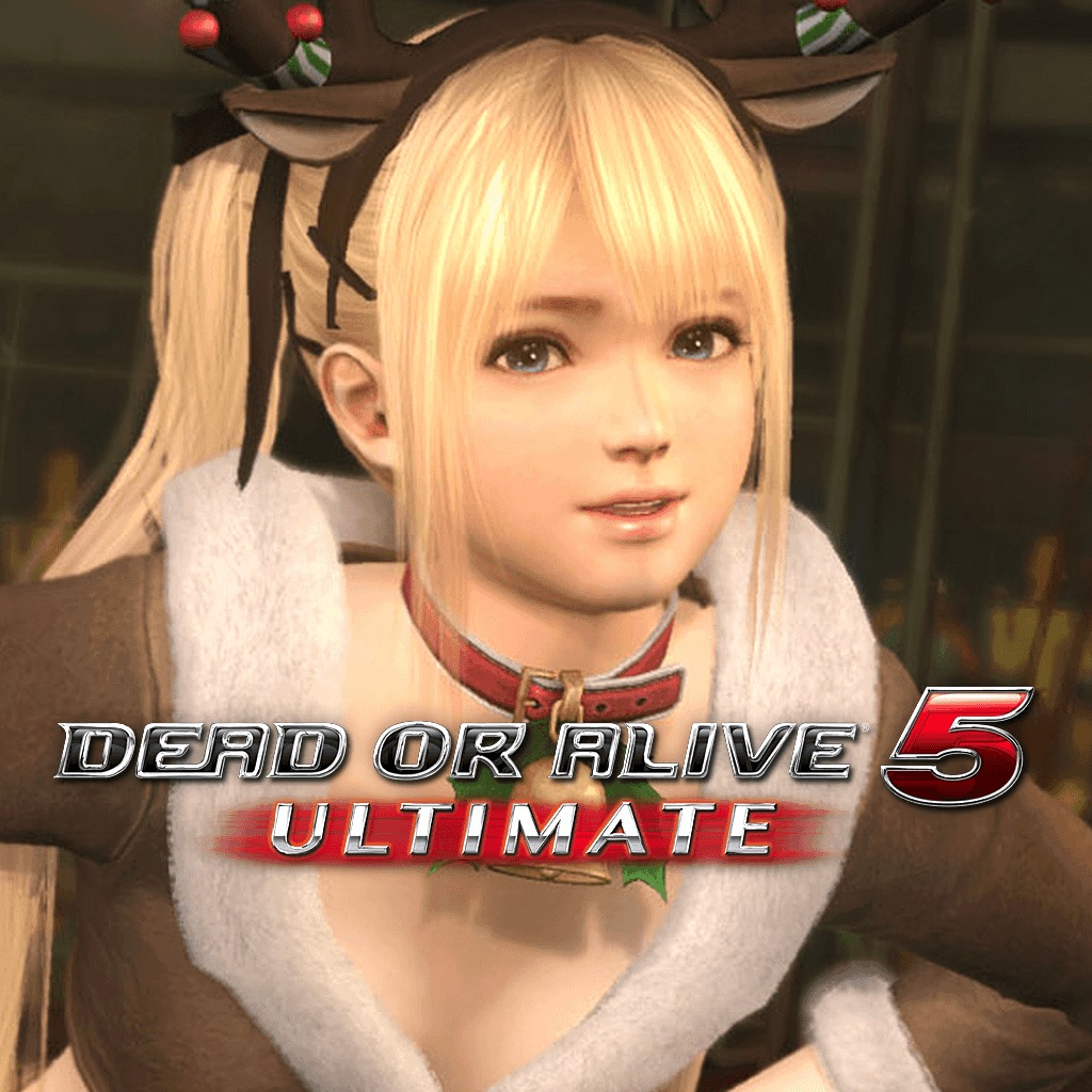 Dead or Alive 5 Ultimate - Marie Rose Christmas Costume