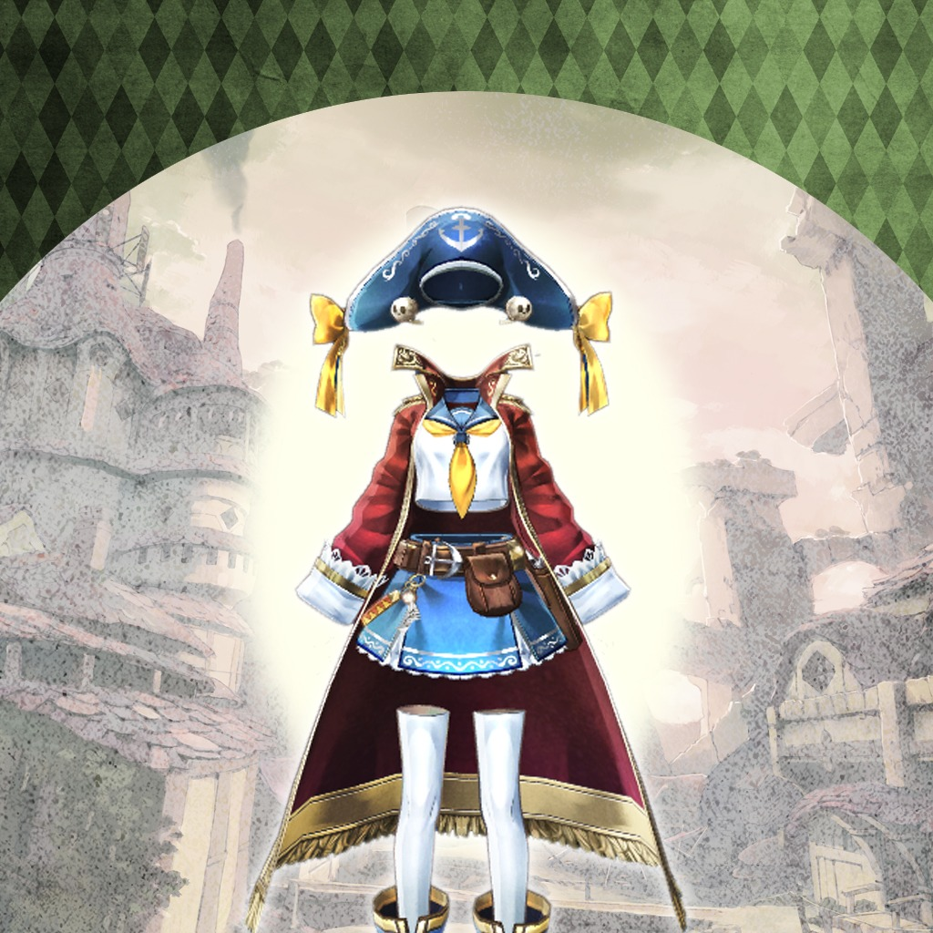 Atelier Escha & Logy  - Additional Costume - Apple Pirate
