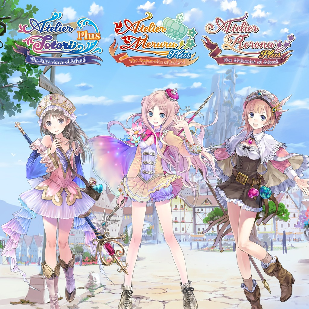 The Arland Atelier Trilogy Plus