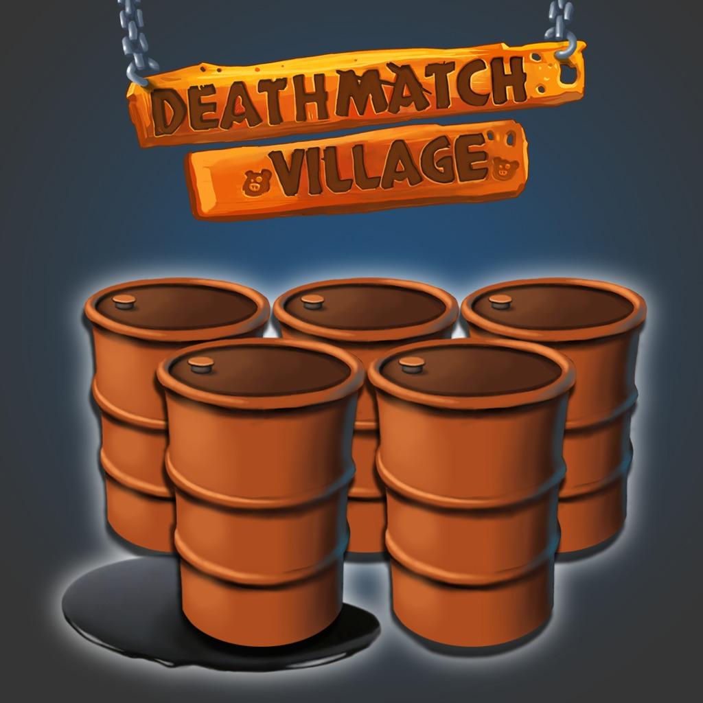 Deathmatch Village: 120 Oil Barrels
