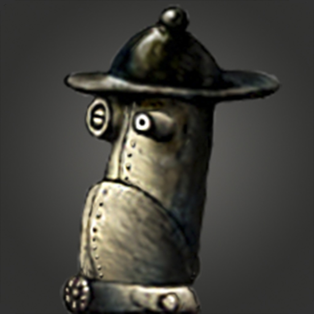Machinarium Boss Head Avatar