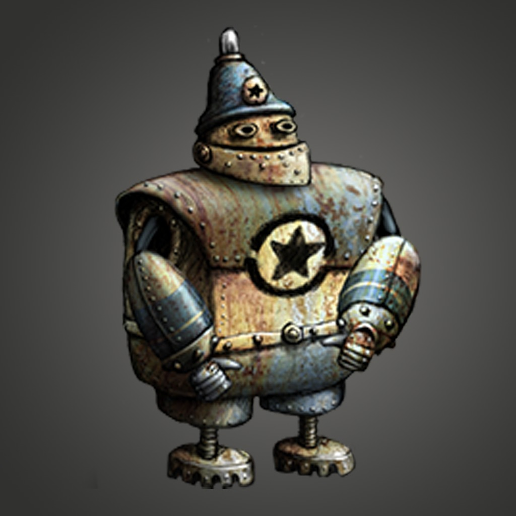 Machinarium Cop Avatar