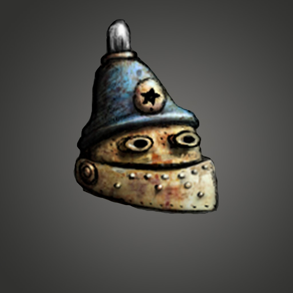 Machinarium Cop Head Avatar
