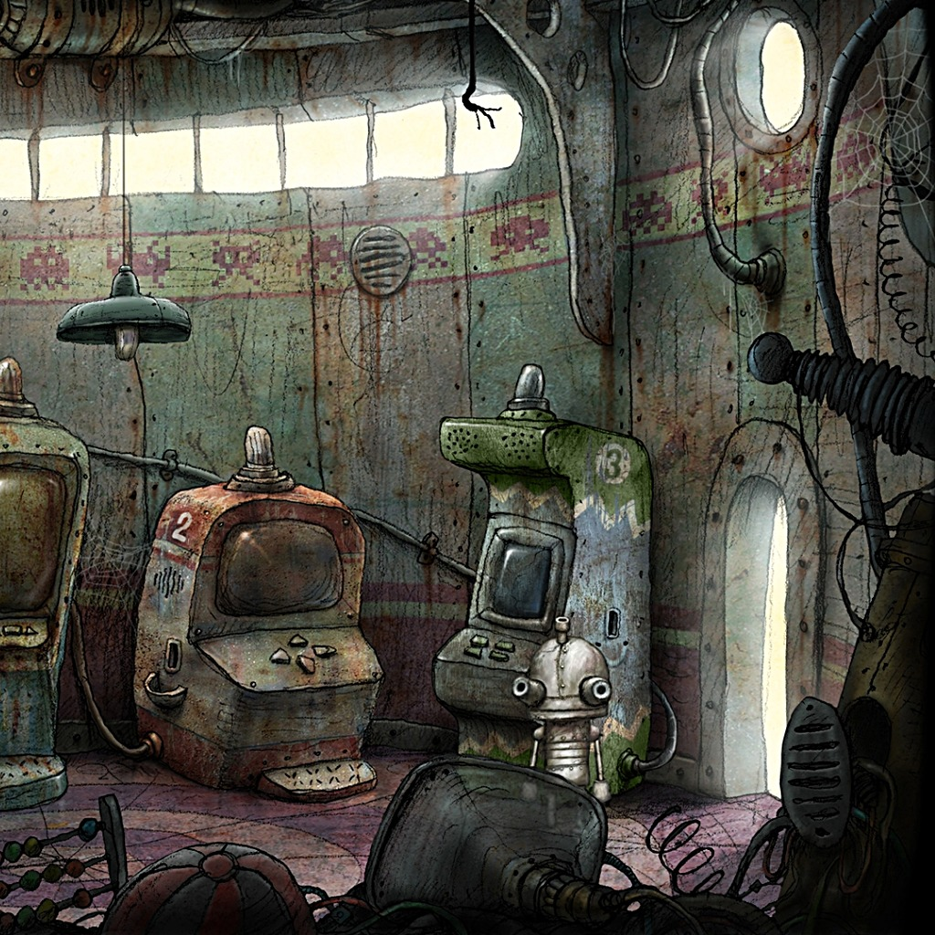 Machinarium The Arcade Wallpaper