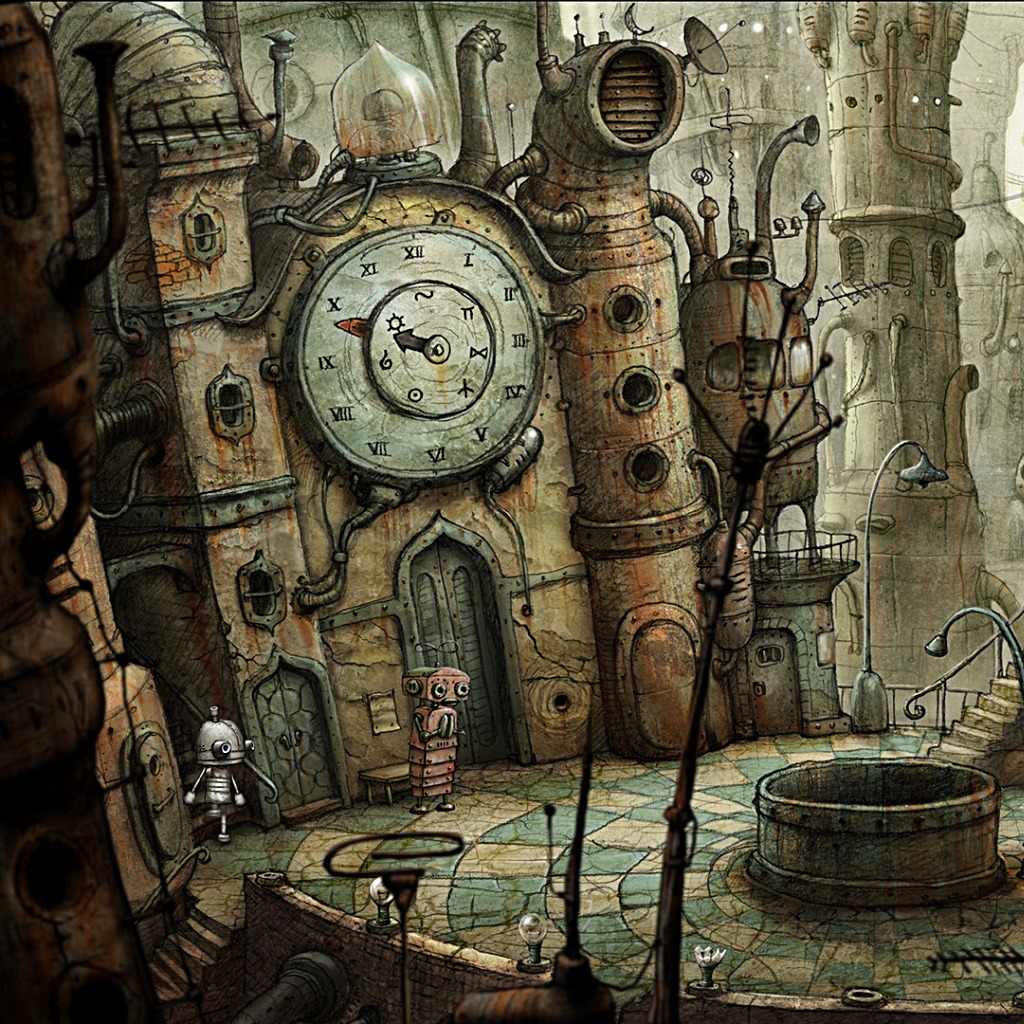 Machinarium The Main Square Wallpaper