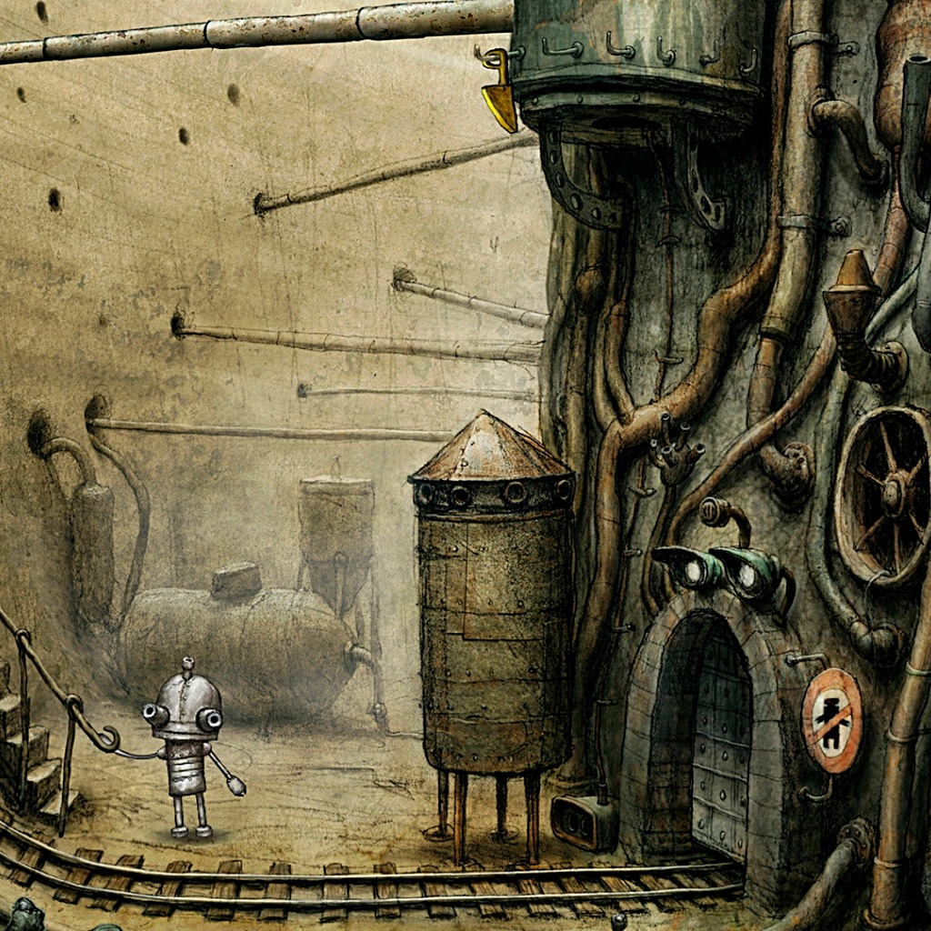 Machinarium The Bottom Wallpaper