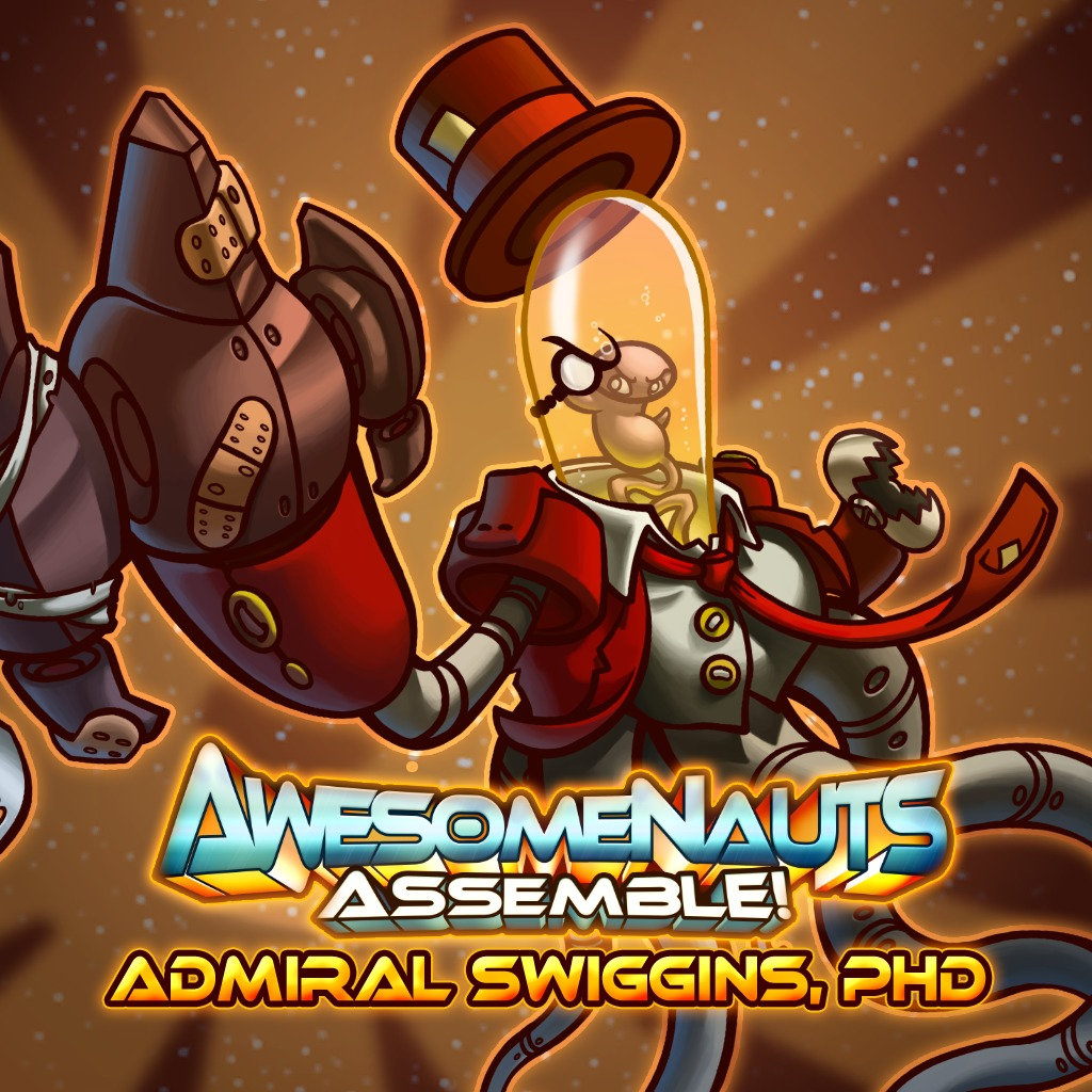 Awesomenauts Assemble! - Admiral Swiggins, PHD Skin