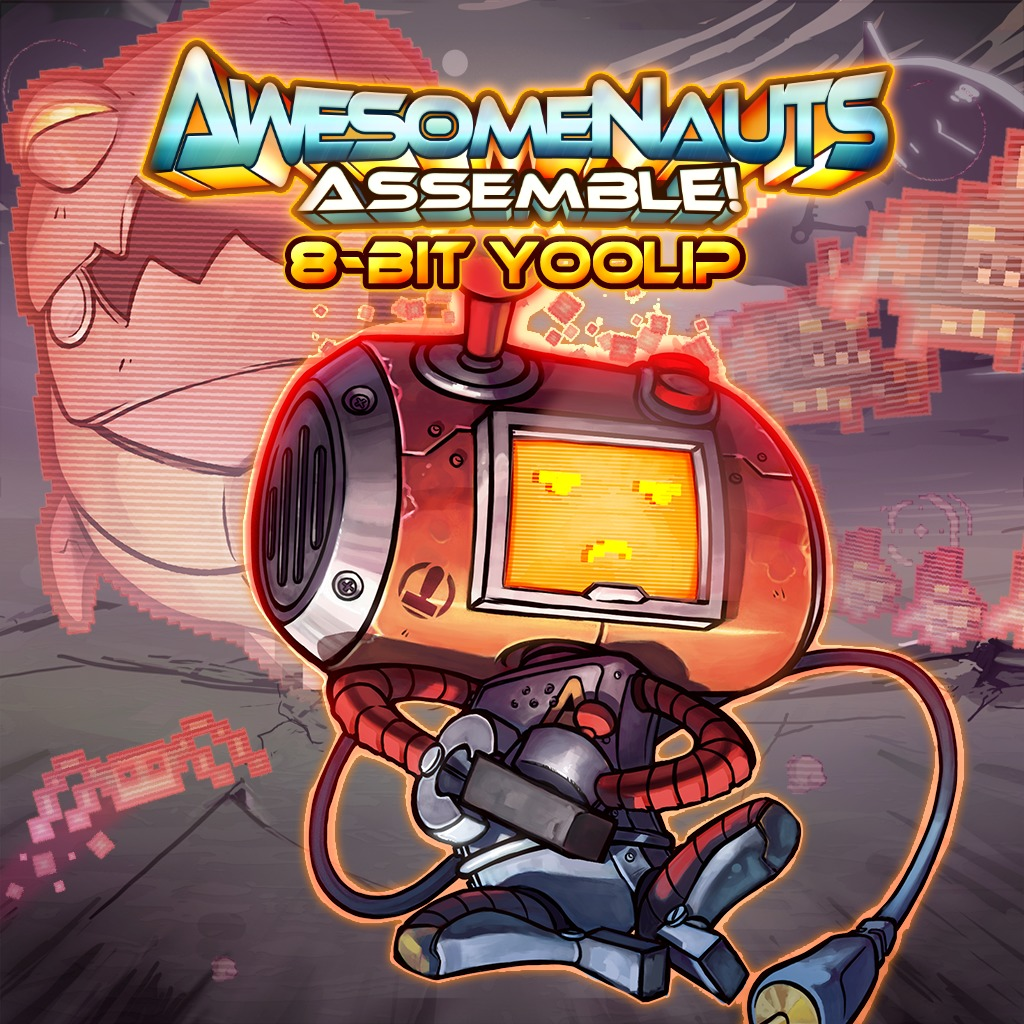 8-Bit Yoolip - Awesomenauts Assemble! Skin