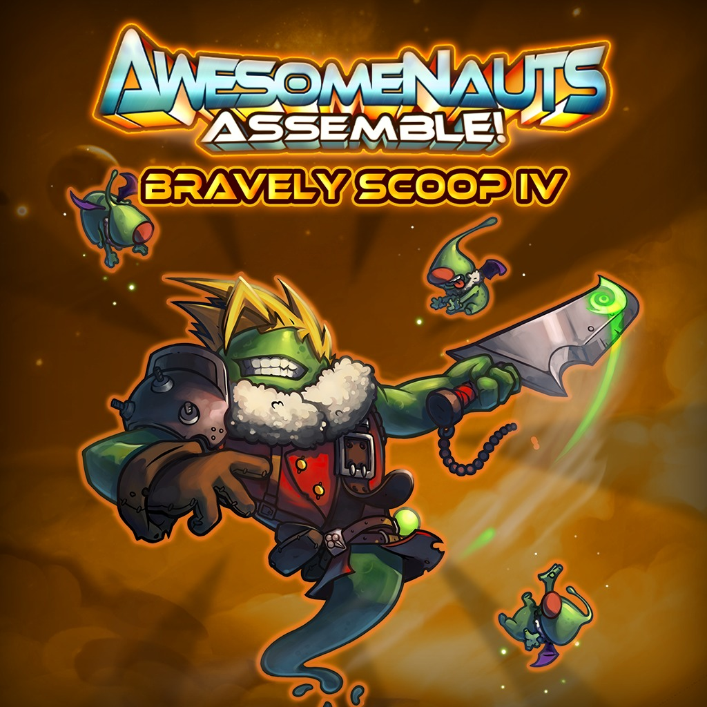Bravely Scoop IV - Awesomenauts Assemble! Skin