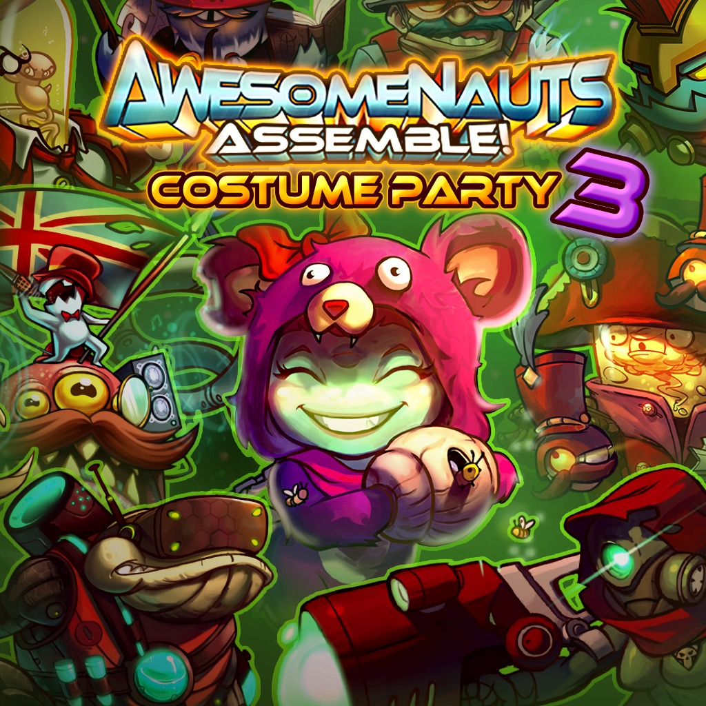 Costume Party 3 - Awesomenauts Assemble! Skin Bundle
