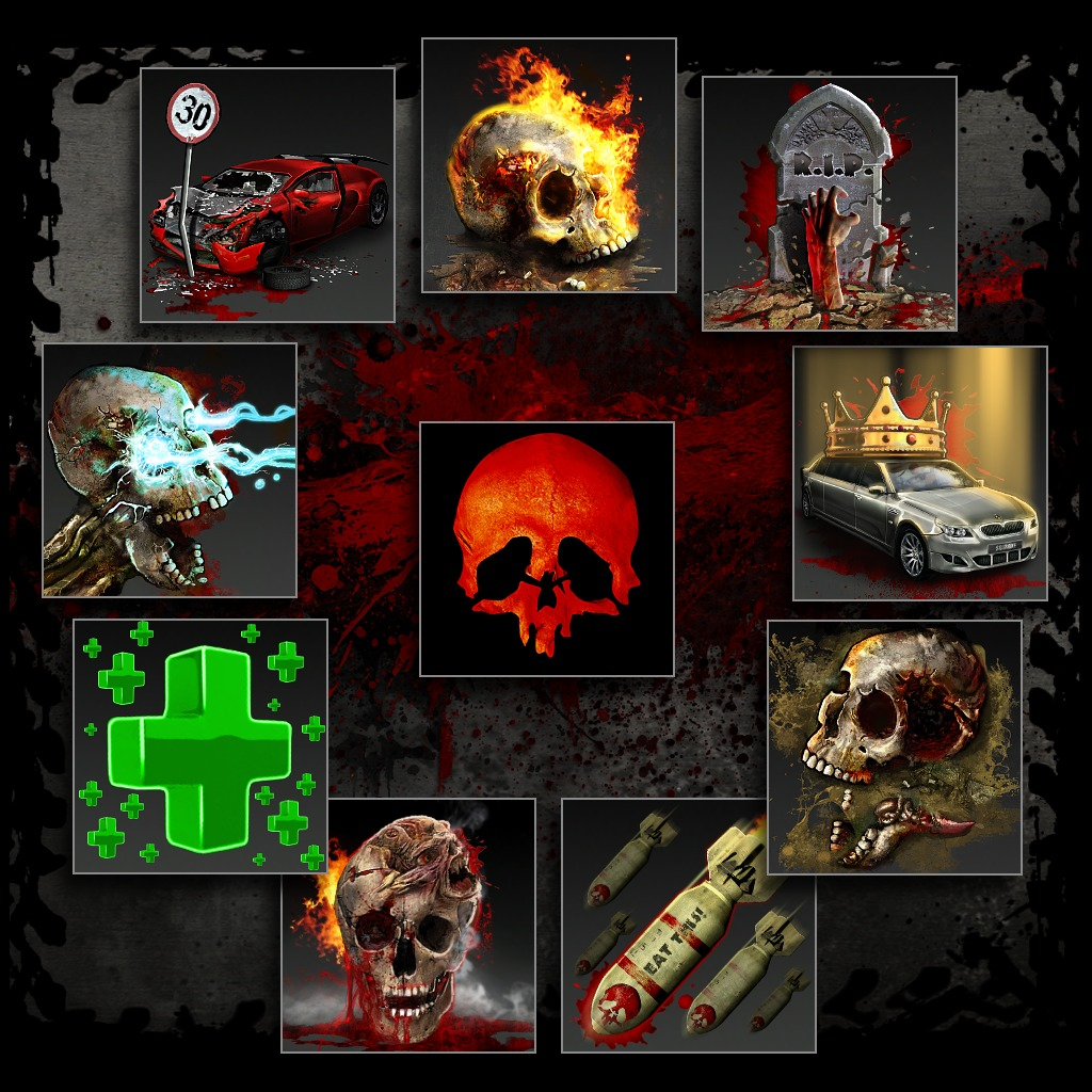 Zombie Driver HD Avatar 10 - Pack