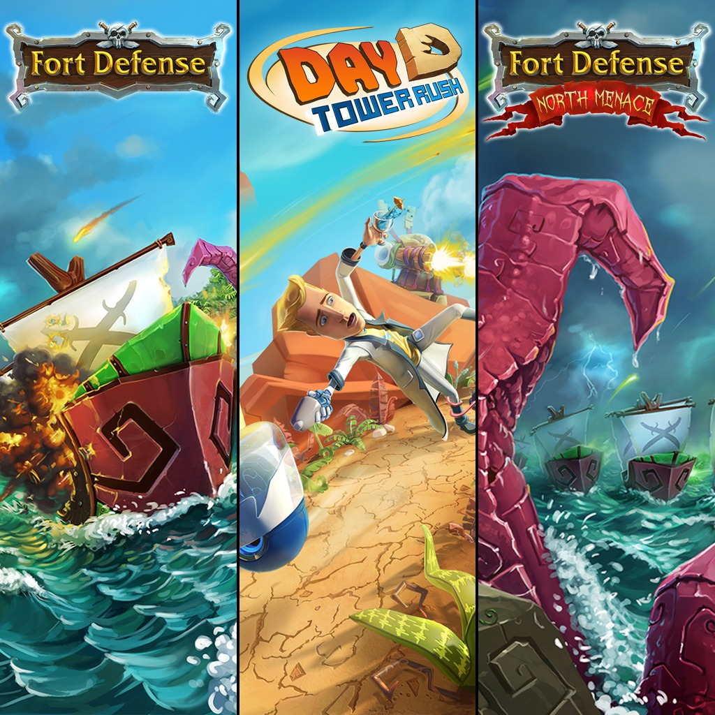 Fort Defense, Fort Defense North Menace & DayD Tower Rush