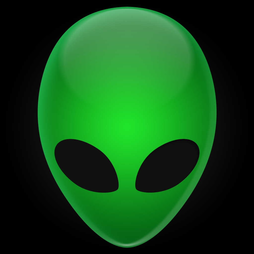 Alien Green Skull HiQ Avatar