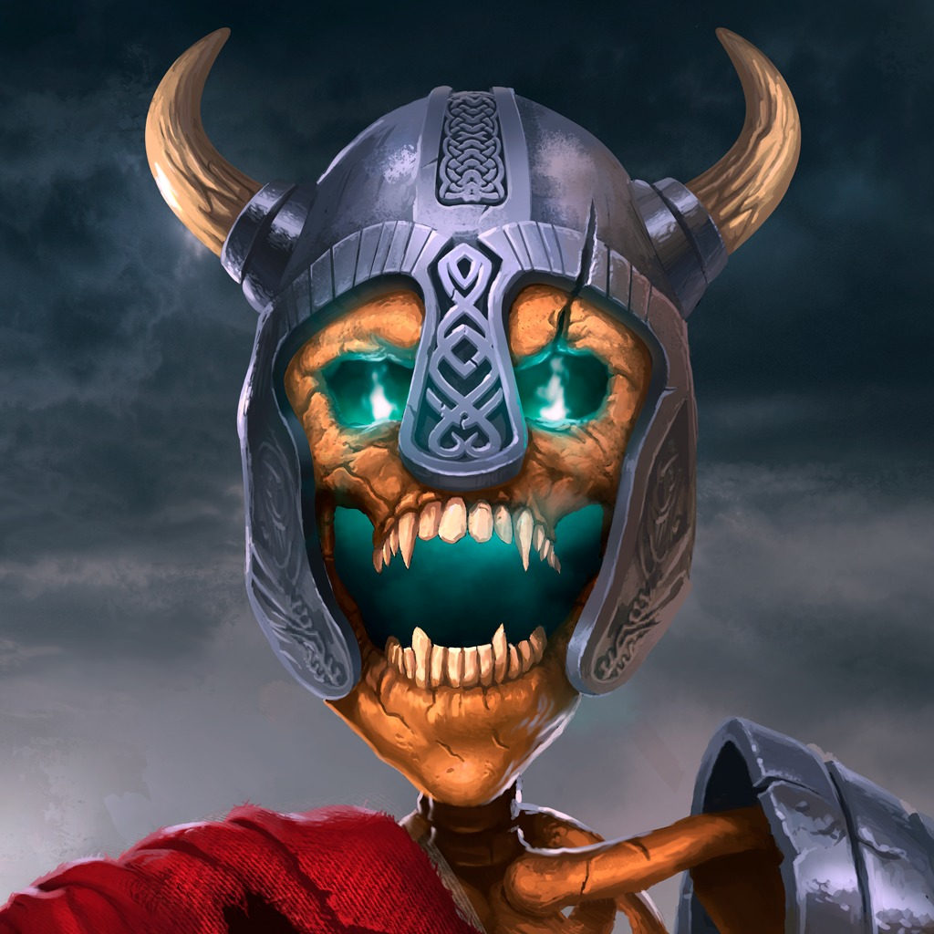 Demon Viking Skull HiQ Avatar