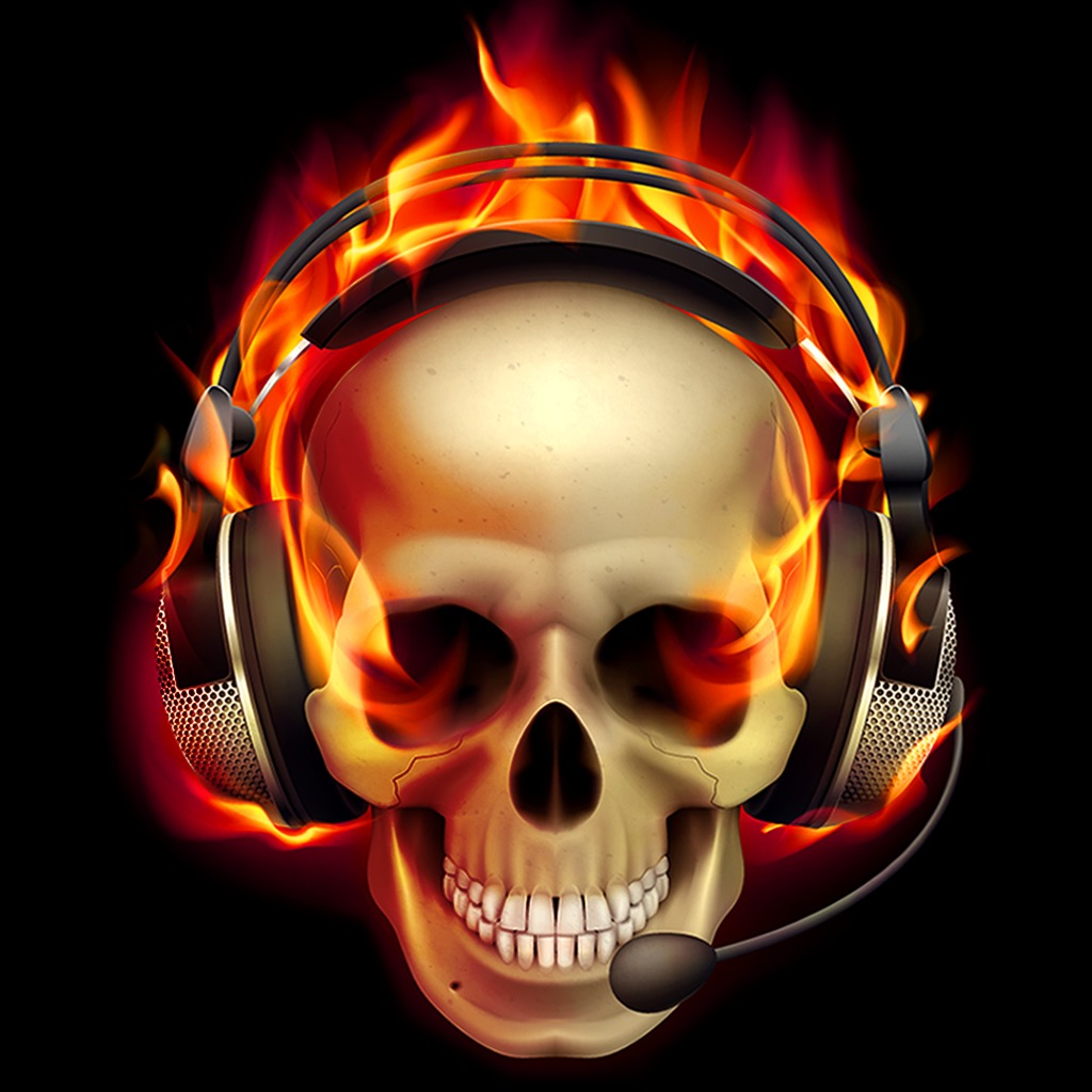 Pro Gamer Skull HiQ Dynamic Theme