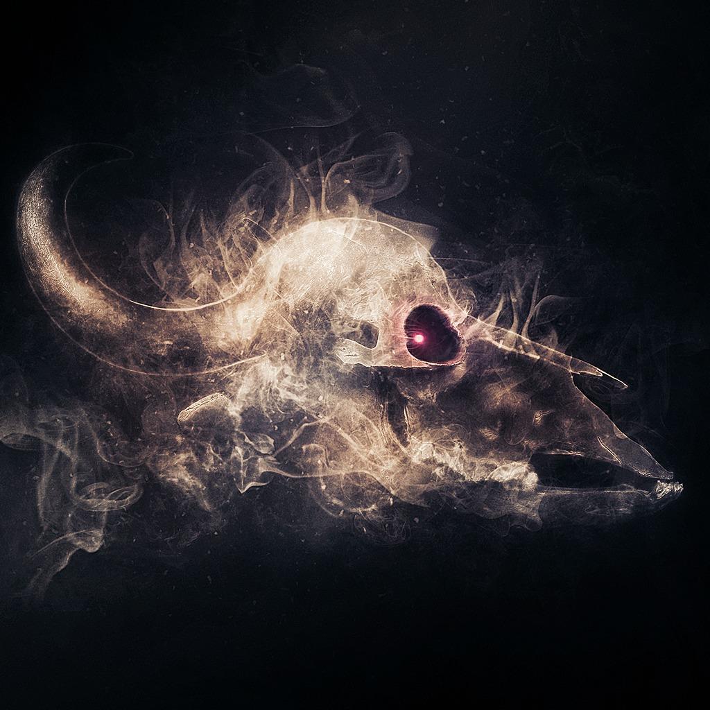 Evil Buffalo Skull HiQ Theme