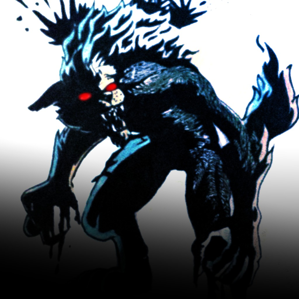 A Man Wolf Avatar