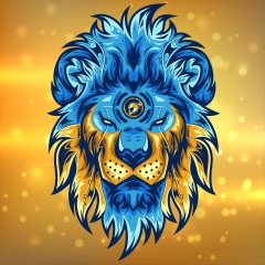 4k Brain Breaker Amazing Lion Gold And Blue Head On Ps4 Official Playstation Store Us
