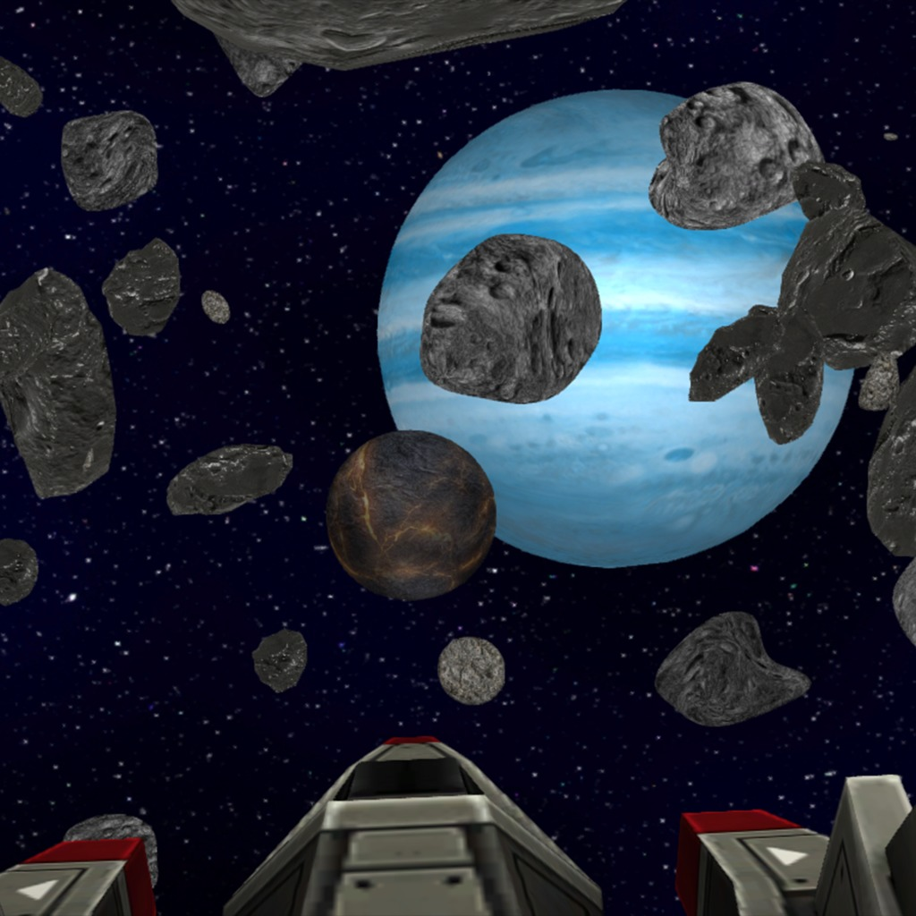 Asteroid Field Flyby 3D Dynamic Theme