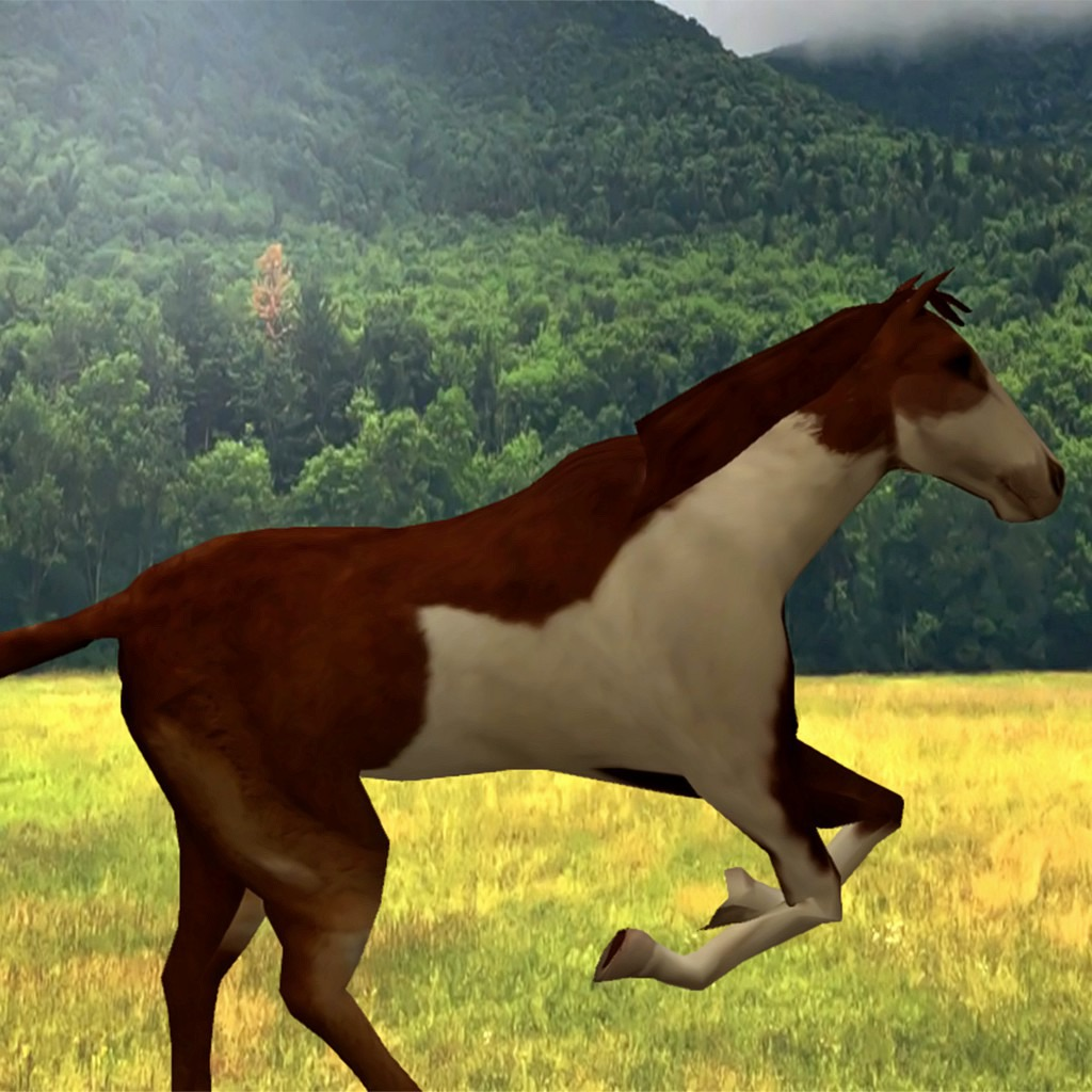 Animated Horses Dynamic Theme