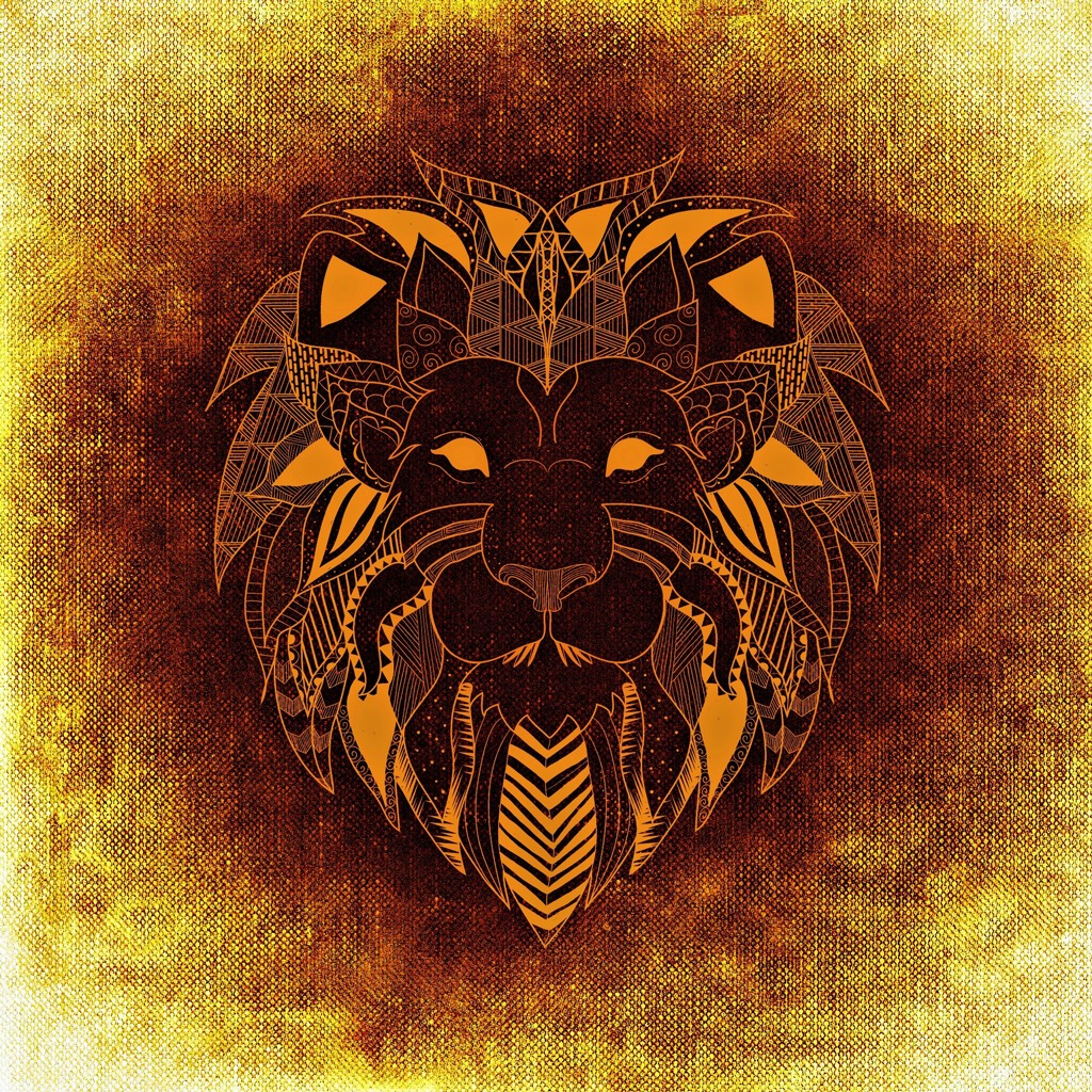 African Tribal Lion
