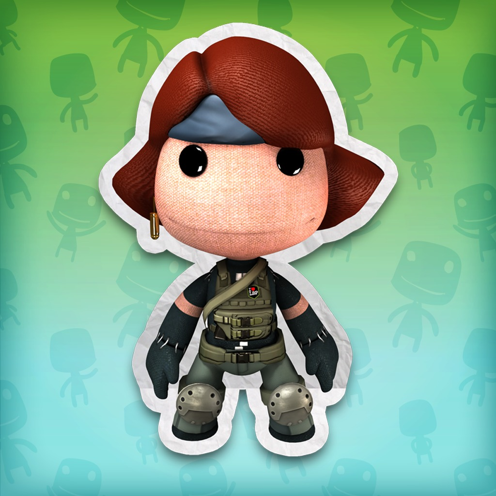 LittleBigPlanet™ METAL GEAR SOLID® Meryl Costume