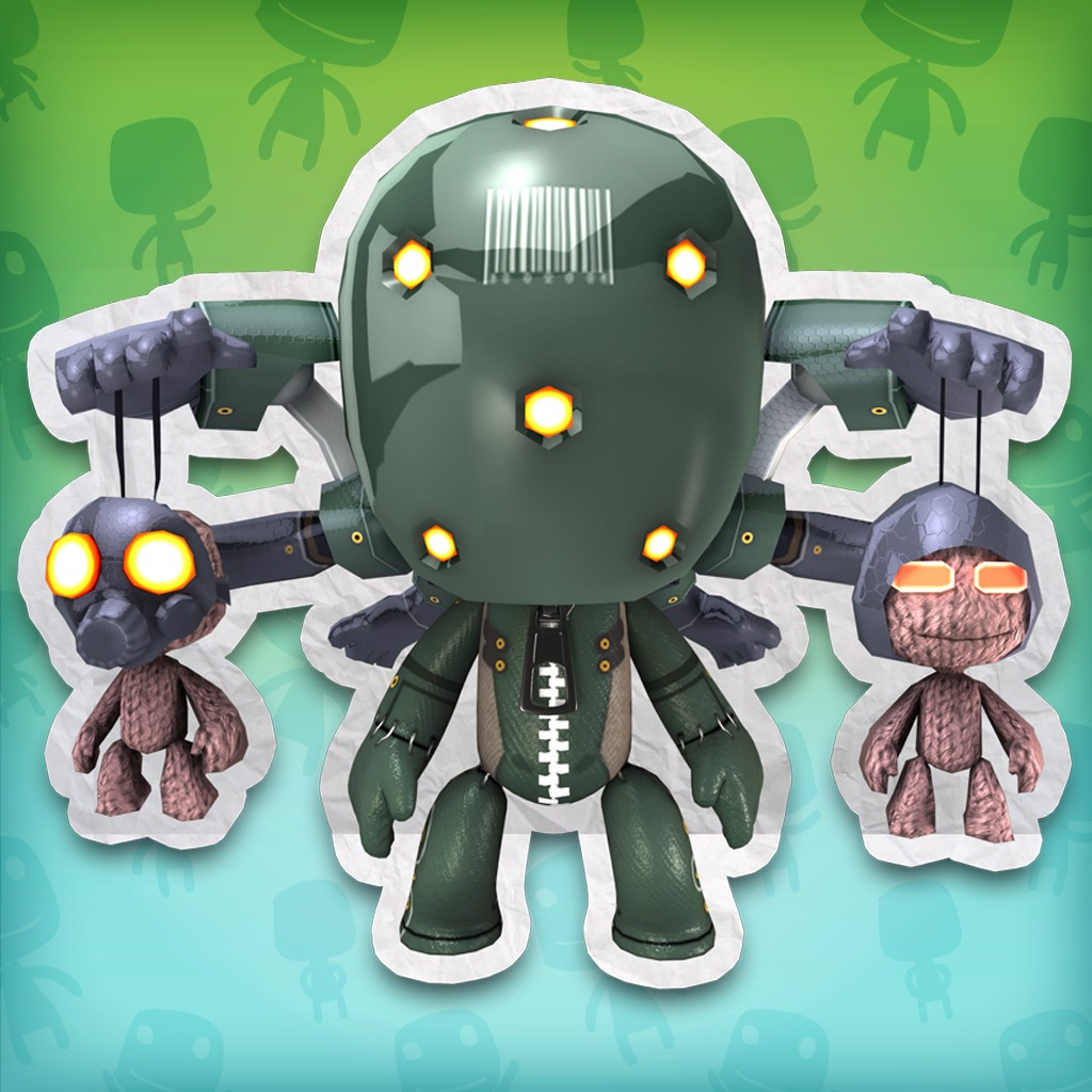 LittleBigPlanet™ METAL GEAR SOLID® Screaming Mantis Costume