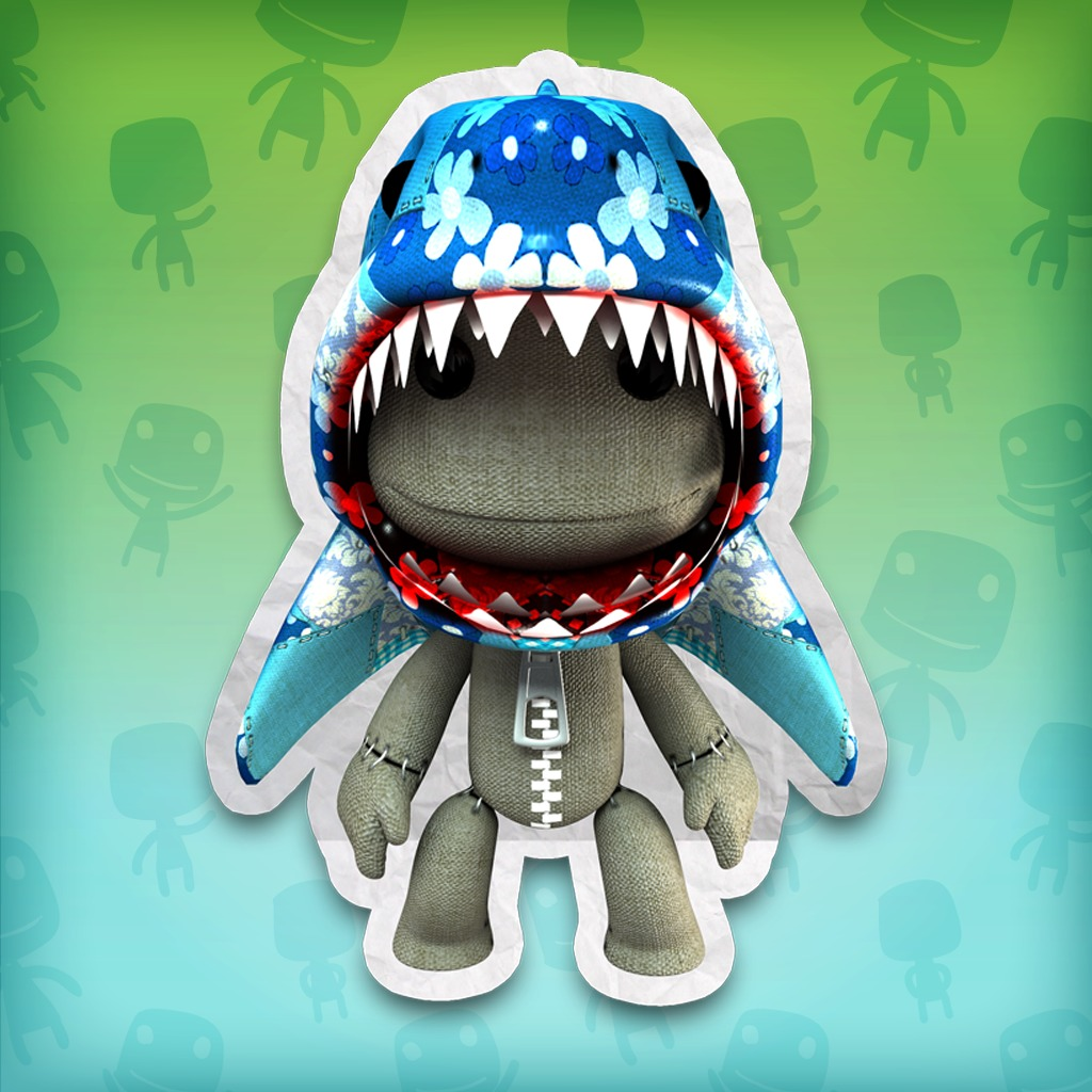 LittleBigPlanet™ Great Blue Shark Costume