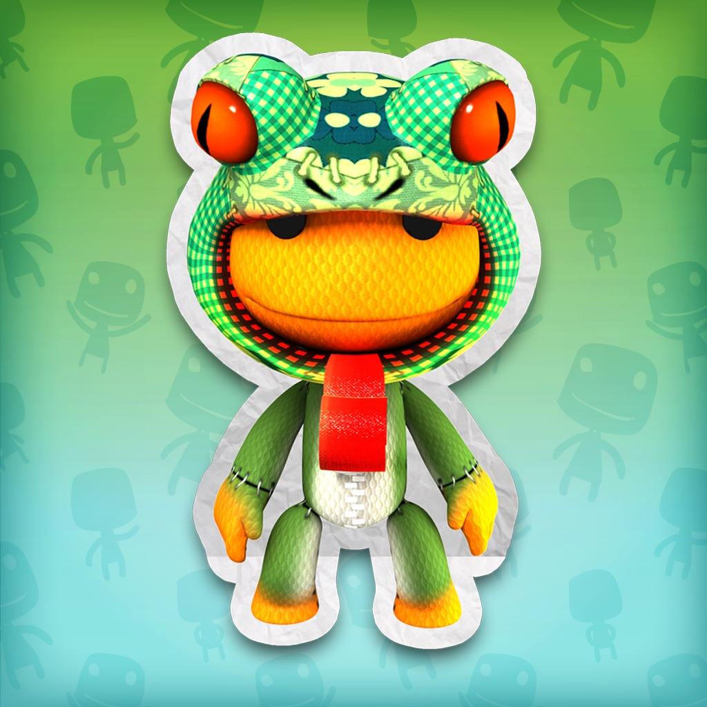 LittleBigPlanet™ Lilly Pad Frog Costume