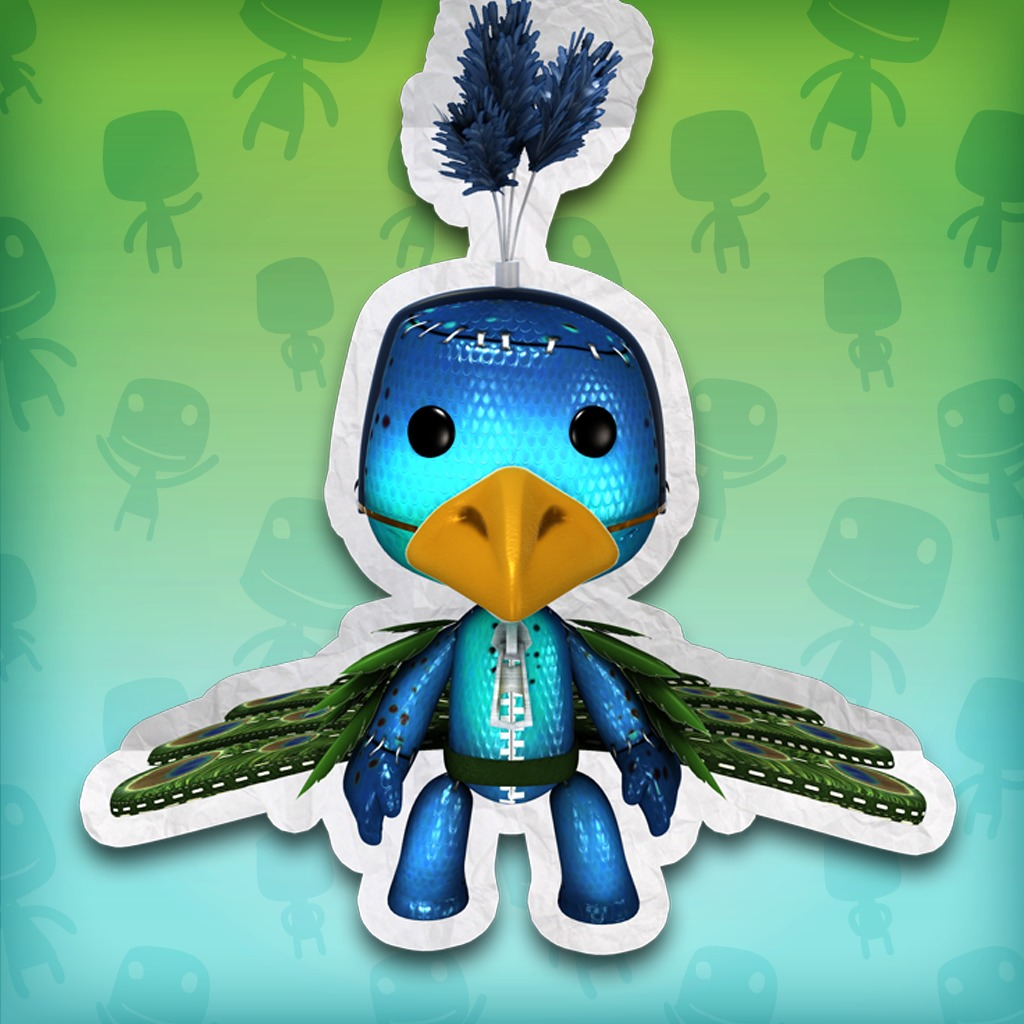 LittleBigPlanet™ More Animals! Peacock Costume