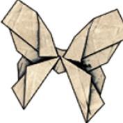 Heavy Rain® Origami Butterfly Avatar