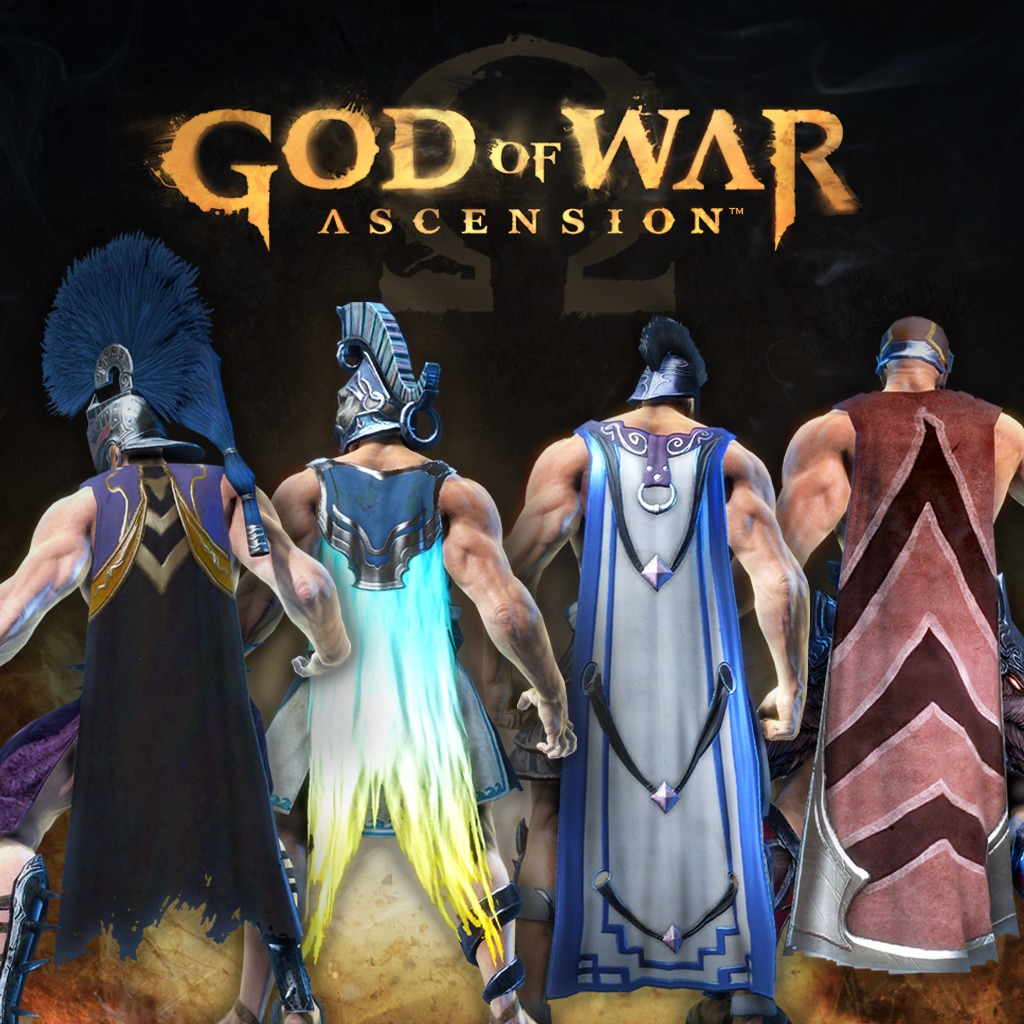 God of War: Ascension™ Fury Capes Pack