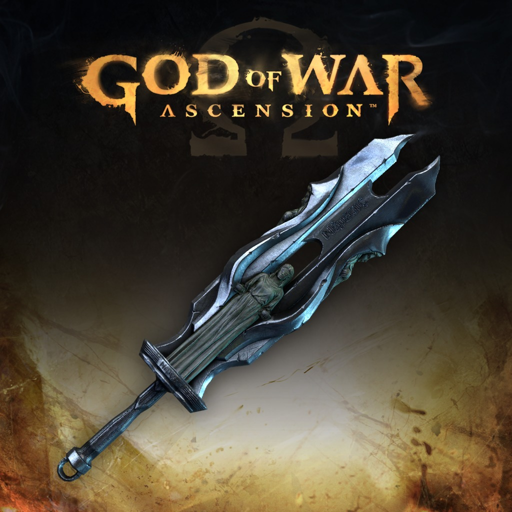 God of War: Ascension™ Blade of Judgment Multiplayer Weapon