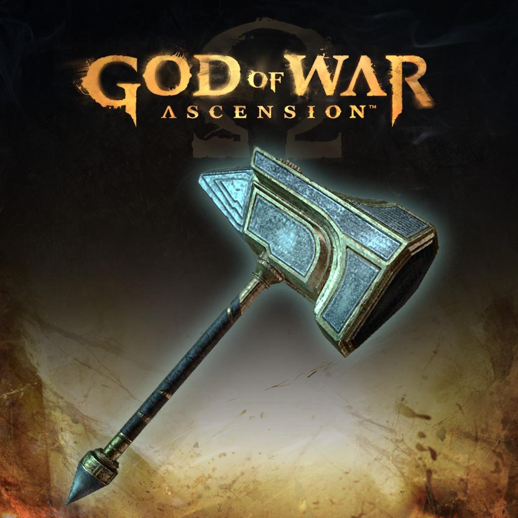 God of War Ascension Co-op Hammer of Odysseus Multiplayer Weapon