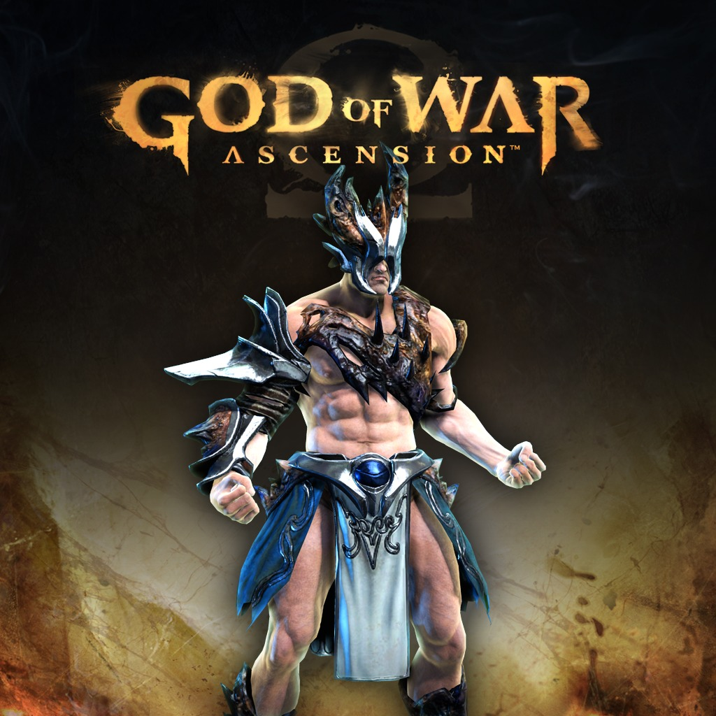 God of War Ascension Olympus Armor of Poseidon Multiplayer Armor