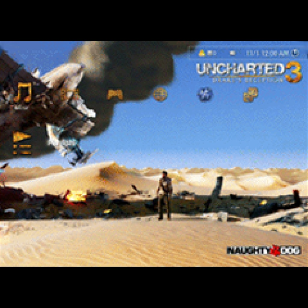 UNCHARTED 3: Drake's Deception™ Announcement Dynamic Theme