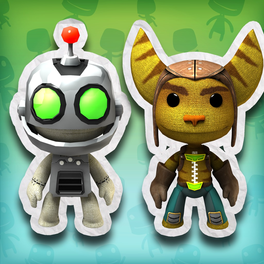 LBP 2 Playstation®Move Heroes: Ratchet & Clank® Costume Pack