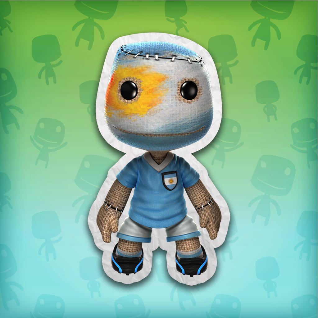 LittleBigPlanet™ 2 Argentina Soccer Fan Costume