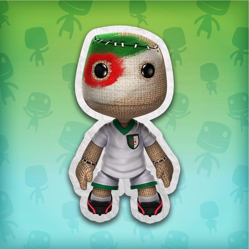 LittleBigPlanet™ 2 Algeria Soccer Fan Costume