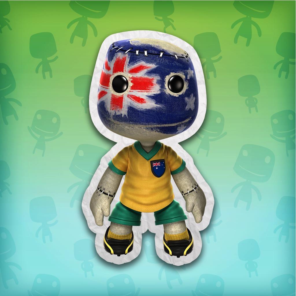 LittleBigPlanet™ 2 Australia Soccer Fan Costume