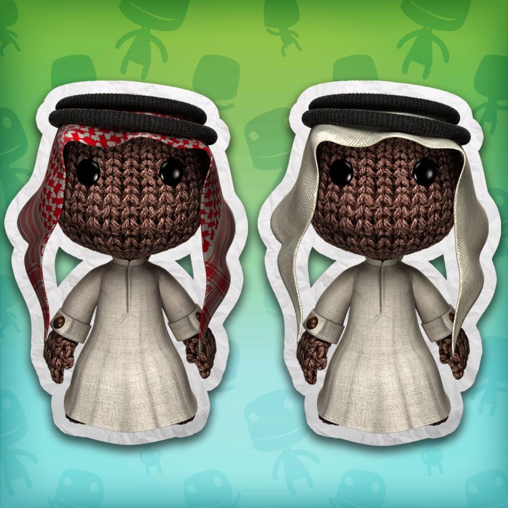 LittleBigPlanet™ 2 Arabic Costumes Minipack