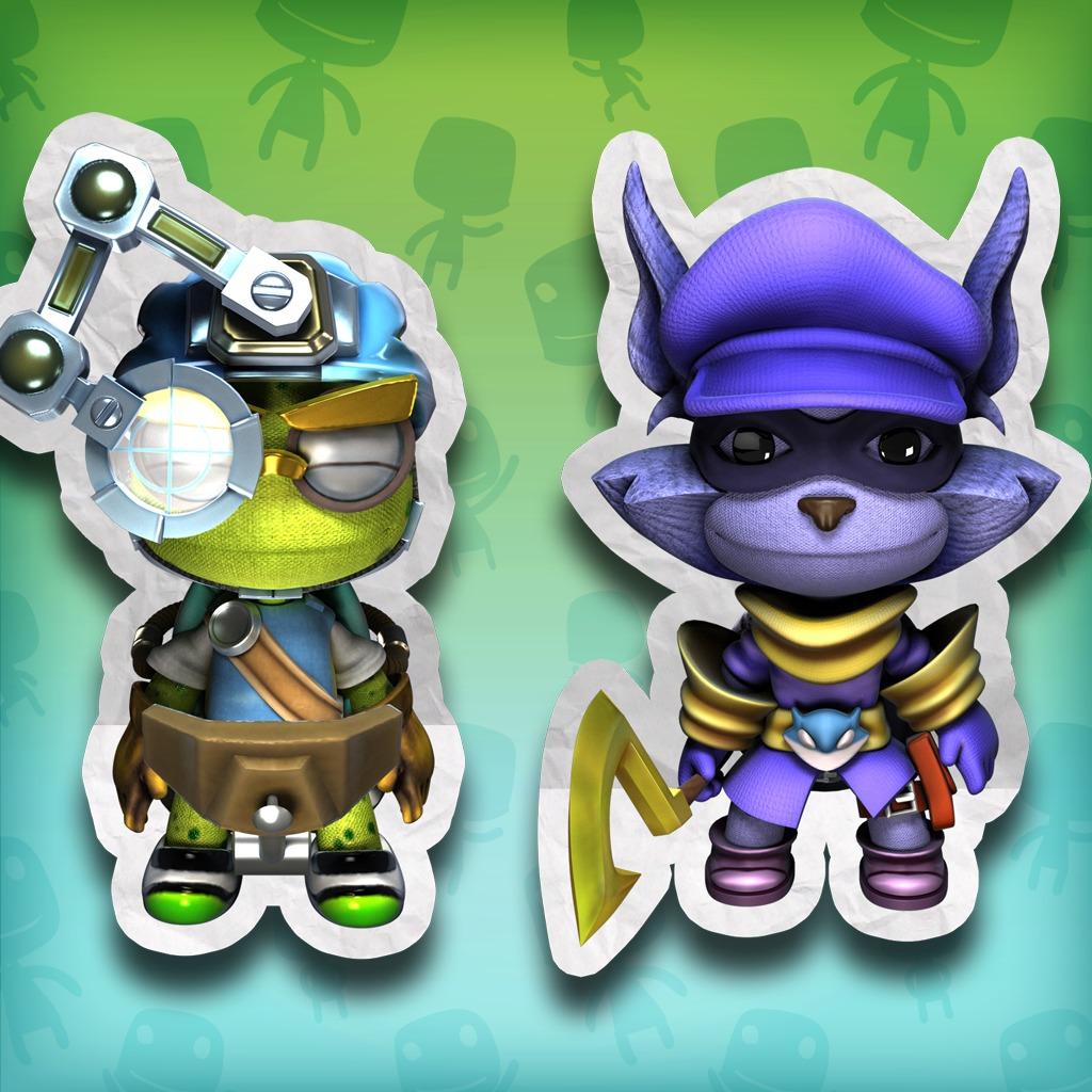 LBP 2 Playstation®Move Heroes: Sly Cooper Costume Pack