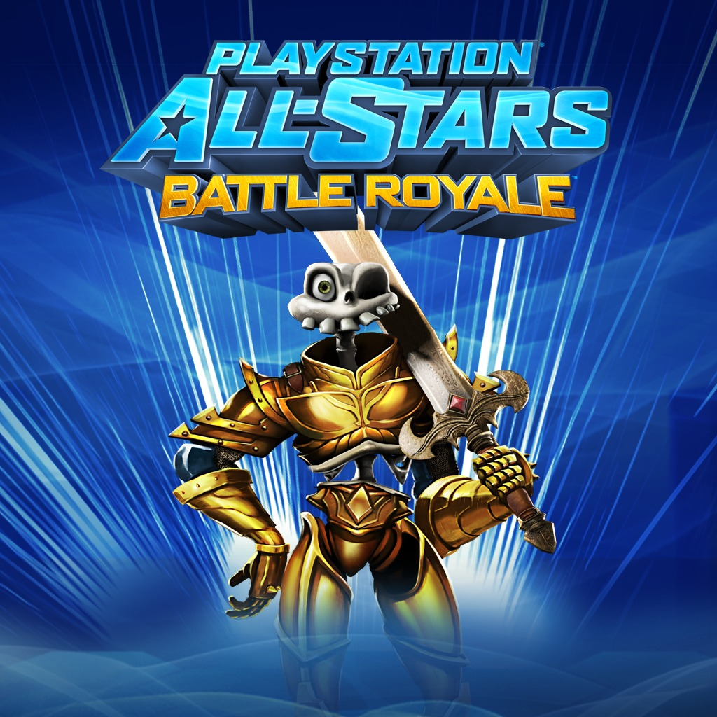 PS All-Stars PS3™ 'Golden Armor' Sir Daniel Costume