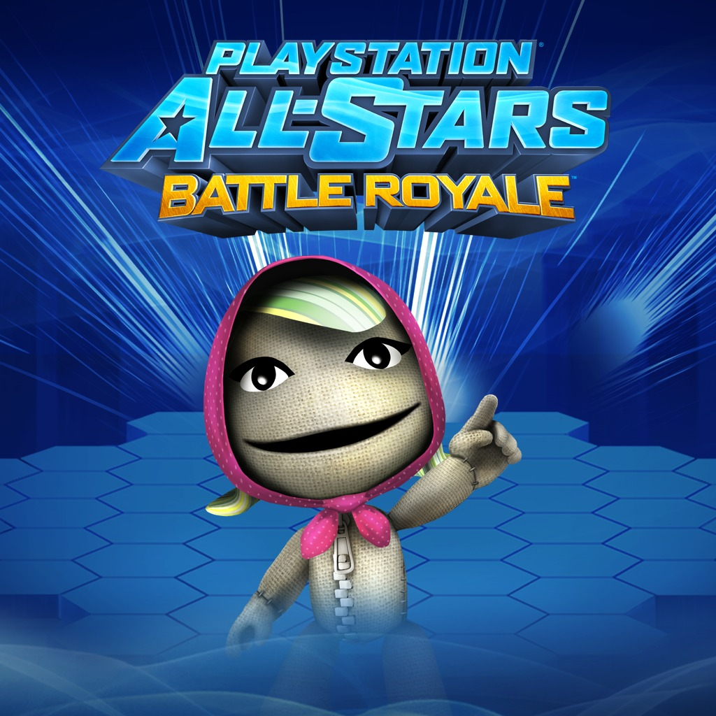 PS All-Stars PS3™ 'Sackgirl' Sackboy Costume