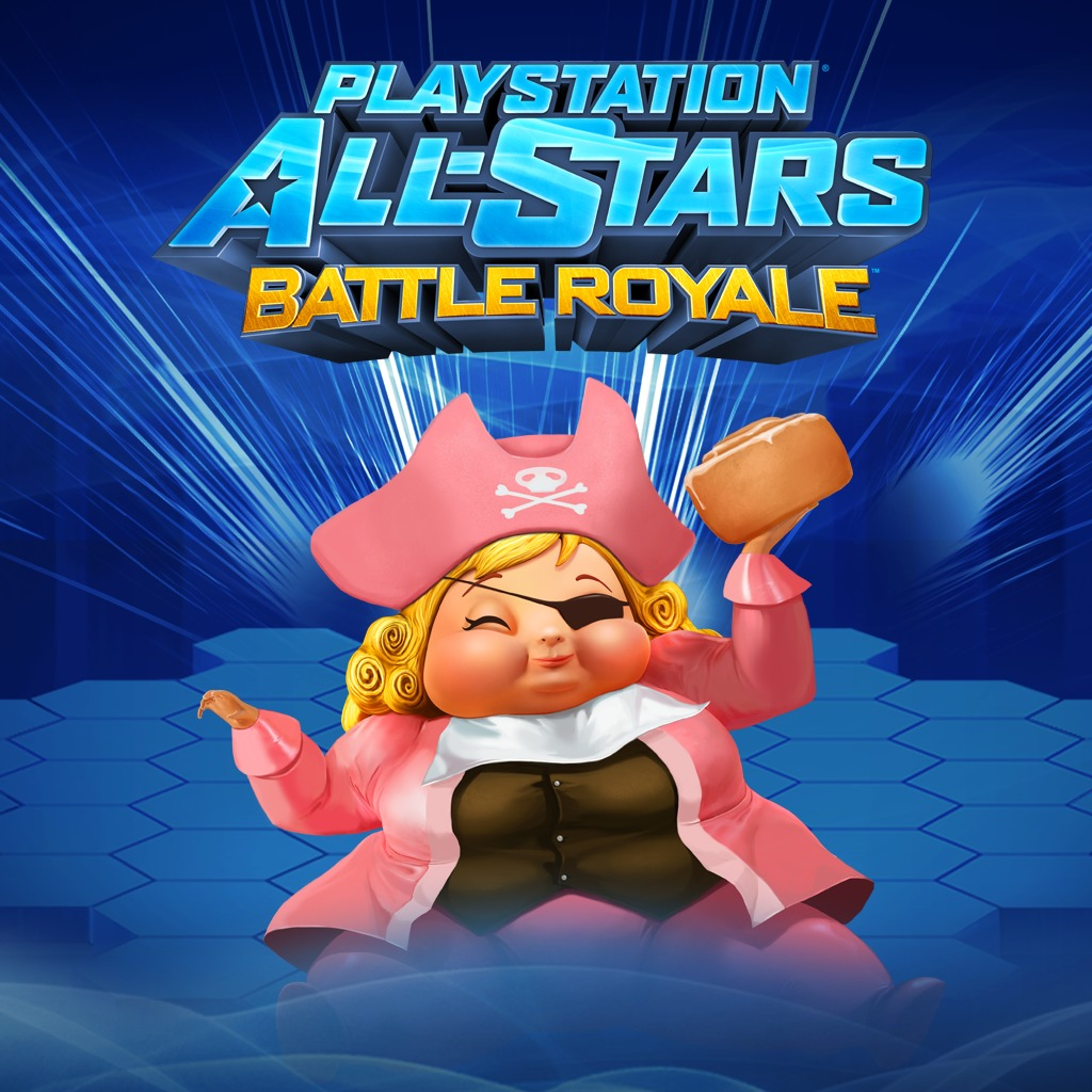 PS All-Stars PS3™ 'Pirate Princess' Fat Princess Costume