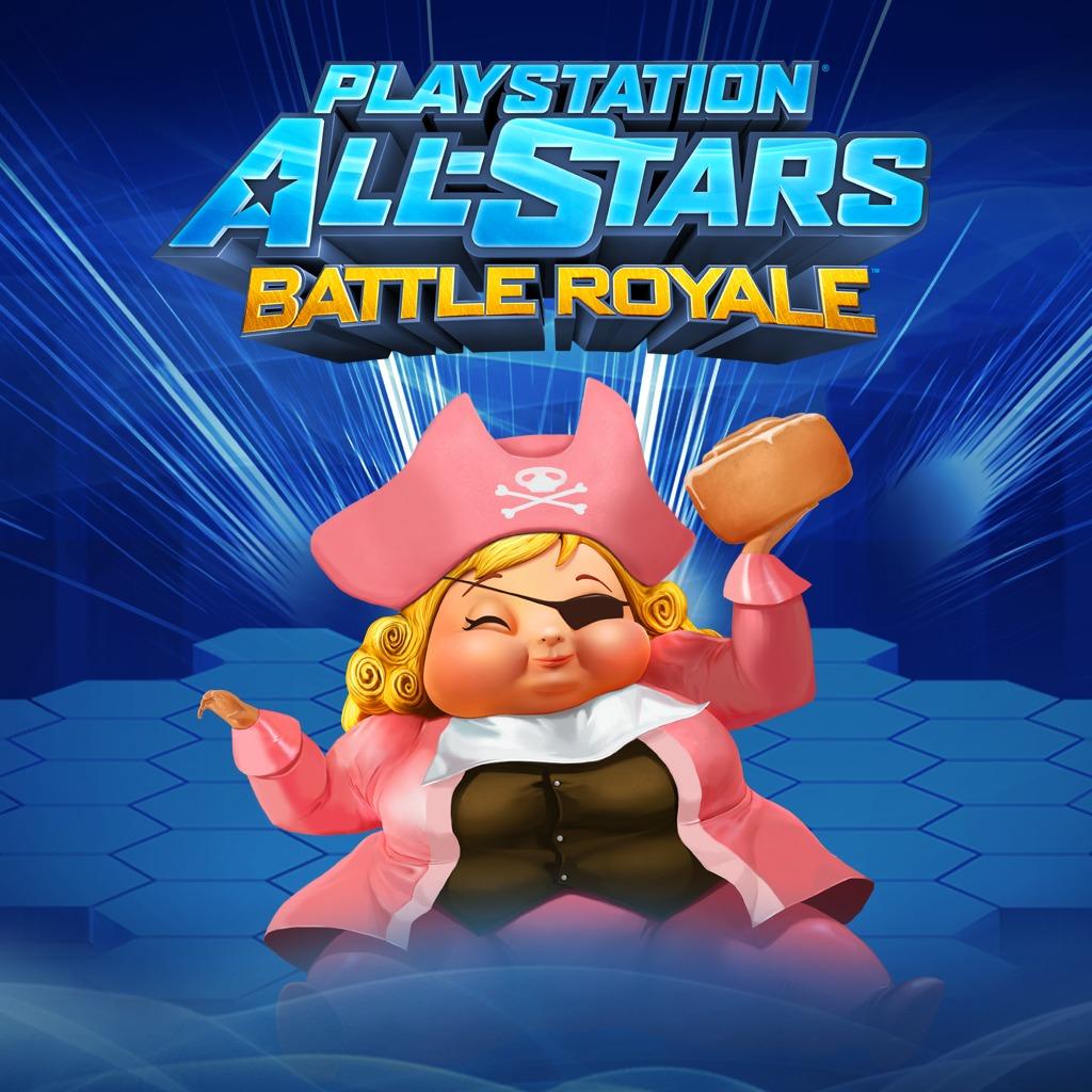 PS All-Stars PS3™ 'Pirate Princess' Fat Princess Costume
