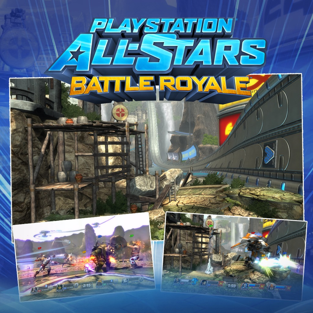 PS All-Stars PS3™ 'Fearless' Heavenly Sword Level