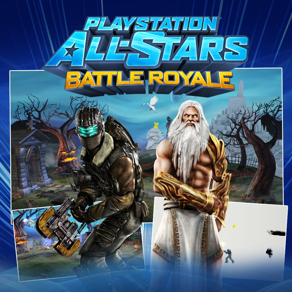 PS All-Stars PS3™ Isaac Clarke, Zeus and Graveyard Pack